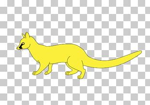 Red Fox Macropods Animal Character PNG