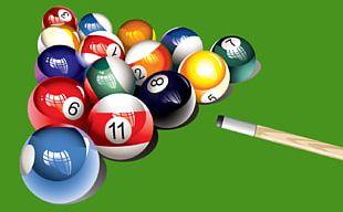 Snooker Billiards Pool Billiard Balls Cue Stick PNG