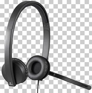 Microphone Headphones Stereophonic Sound Audio Logitech PNG