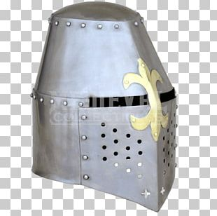 Helmet Middle Ages Crusades Great Helm Knight PNG