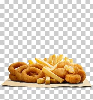 French Fries Onion Ring Hamburger Fried Chicken Chicken Fingers PNG